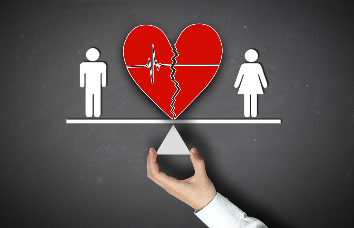 Women have the same risk of heart attack as men.